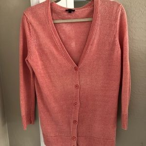 Talbots linen sweater